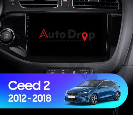 Navigatie Kia CEED (2012-2018), Android 9.1, QUADCORE|MTK| / 1GB RAM + 16GB ROM, 9 Inch - AD-BGPCEED12MTK14