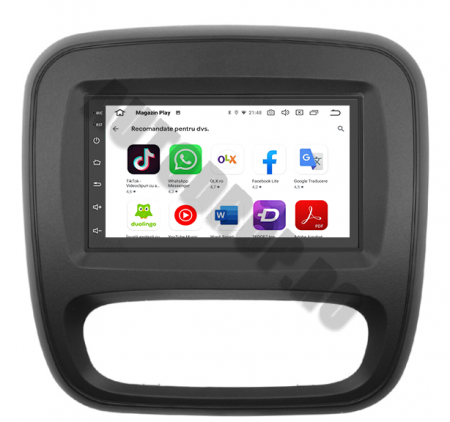 Navigatie Opel Vivaro / Renault Traffic 2014+, QUADCORE|MTK| / 2GB RAM + 32GB ROM, 7 Inch - AD-BGPVIVARO15MTK2GB9