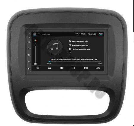 Navigatie Opel Vivaro / Renault Traffic 2014+, QUADCORE|MTK| / 2GB RAM + 32GB ROM, 7 Inch - AD-BGPVIVARO15MTK2GB5
