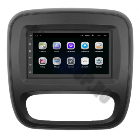 Navigatie Opel Vivaro / Renault Traffic 2014+, QUADCORE|MTK| / 2GB RAM + 32GB ROM, 7 Inch - AD-BGPVIVARO15MTK2GB3