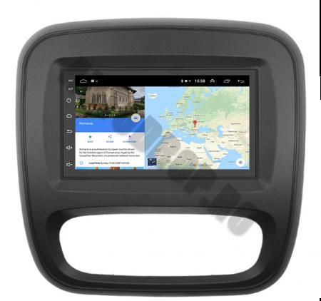 Navigatie Opel Vivaro / Renault Traffic 2014+, QUADCORE|MTK| / 2GB RAM + 32GB ROM, 7 Inch - AD-BGPVIVARO15MTK2GB12