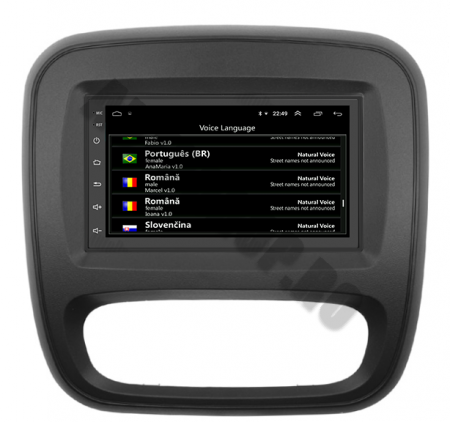 Navigatie Opel Vivaro / Renault Traffic 2014+, QUADCORE|MTK| / 2GB RAM + 32GB ROM, 7 Inch - AD-BGPVIVARO15MTK2GB13