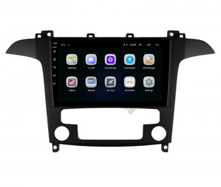 Navigatie Ford S-MAX (2006-2015), Android 9.1, QUADCORE|MTK| / 2GB RAM + 32GB ROM, 9 Inch - AD-BGPSMAXMTK2GB3