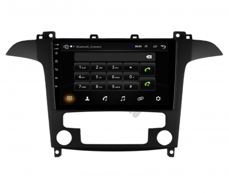 Navigatie Ford S-MAX (2006-2015), Android 9.1, QUADCORE|MTK| / 1GB RAM + 16 ROM, 9 Inch - AD-BGPSMAXMTK5