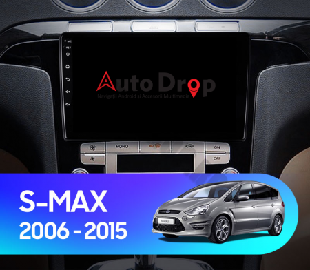 Navigatie Ford S-MAX (2006-2015), Android 9.1, QUADCORE|MTK| / 1GB RAM + 16 ROM, 9 Inch - AD-BGPSMAXMTK17