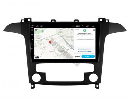 Navigatie Ford S-MAX (2006-2015), Android 9.1, QUADCORE|MTK| / 2GB RAM + 32GB ROM, 9 Inch - AD-BGPSMAXMTK2GB10