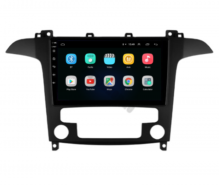 Navigatie Ford S-MAX (2006-2015), Android 9.1, QUADCORE|MTK| / 1GB RAM + 16 ROM, 9 Inch - AD-BGPSMAXMTK2