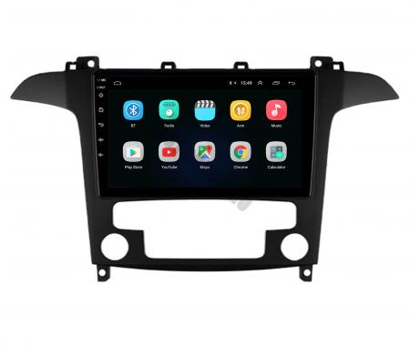 Navigatie Ford S-MAX (2006-2015), Android 9.1, QUADCORE|MTK| / 2GB RAM + 32GB ROM, 9 Inch - AD-BGPSMAXMTK2GB2