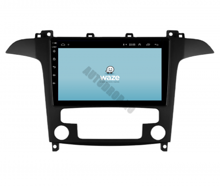 Navigatie Ford S-MAX (2006-2015), Android 9.1, QUADCORE|MTK| / 1GB RAM + 16 ROM, 9 Inch - AD-BGPSMAXMTK12