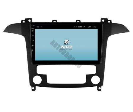 Navigatie Ford S-MAX (2006-2015), Android 9.1, QUADCORE|MTK| / 2GB RAM + 32GB ROM, 9 Inch - AD-BGPSMAXMTK2GB12
