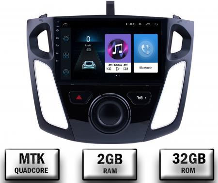 Navigatie Ford Focus 3 (2011-2019), Android 9.1, QUADCORE|MTK| / 2GB RAM + 32GB ROM, 9 Inch - AD-BGPFF3MTK2GB0