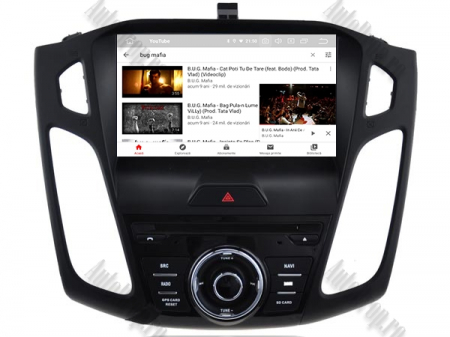 Navigatie Ford Focus 3, Android 9, Quadcore|PX30| / 2GB RAM + 16GB ROM cu DVD, 9 Inch - AD-BGWFORD3P312