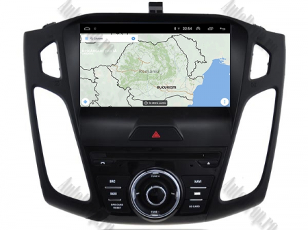 Navigatie Ford Focus 3, Android 9, Quadcore|PX30| / 2GB RAM + 16GB ROM cu DVD, 9 Inch - AD-BGWFORD3P315