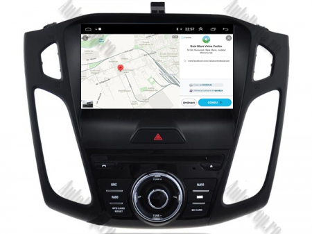 Navigatie Ford Focus 3, Android 9, Quadcore|PX30| / 2GB RAM + 16GB ROM cu DVD, 9 Inch - AD-BGWFORD3P313