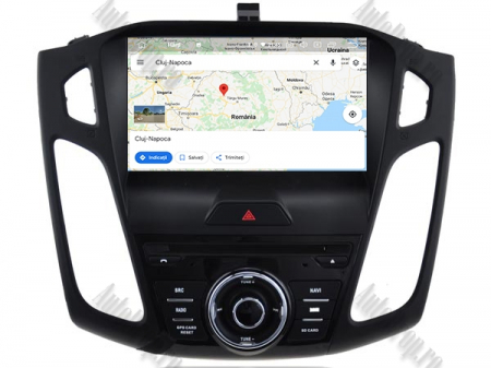 Navigatie Ford Focus 3, Android 9, Quadcore|PX30| / 2GB RAM + 16GB ROM cu DVD, 9 Inch - AD-BGWFORD3P314