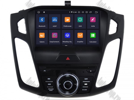 Navigatie Ford Focus 3, Android 9, Quadcore|PX30| / 2GB RAM + 16GB ROM cu DVD, 9 Inch - AD-BGWFORD3P31