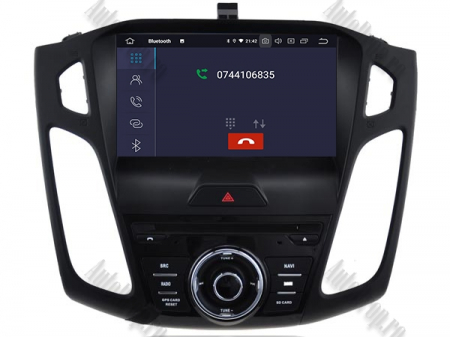 Navigatie Ford Focus 3, Android 9, Quadcore|PX30| / 2GB RAM + 16GB ROM cu DVD, 9 Inch - AD-BGWFORD3P35