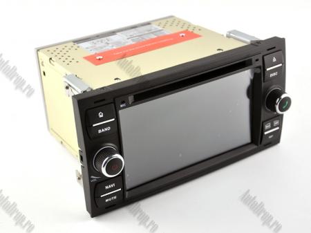 Navigatie Ford Focus/Fiesta/C-Max/S-Max/Kuga/Transit, Android 10, Quadcore|PX30| / 2GB RAM + 16GB ROM cu DVD, 7 Inch - AD-BGWFORDD7P3-B19