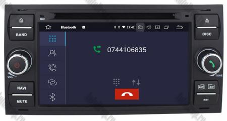 Navigatie Ford Focus/Fiesta/C-Max/S-Max/Kuga/Transit, Android 10, Quadcore|PX30| / 2GB RAM + 16GB ROM cu DVD, 7 Inch - AD-BGWFORDD7P3-B5