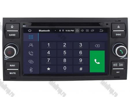 Navigatie Ford Focus/Fiesta/C-Max/S-Max/Kuga/Transit, Android 10, Quadcore|PX30| / 2GB RAM + 16GB ROM cu DVD, 7 Inch - AD-BGWFORDD7P3-B3