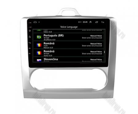 Navigatie Ford Focus MK2 2004-2011 Clima Automata, Android 9.1, QUADCORE|MTK| / 1GB RAM + 16 ROM, 9 Inch - AD-BGPFORDFAAC1GB5