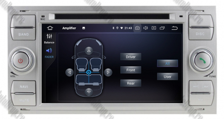 NAVIGATIE FORD FOCUS/MONDEO/S-MAX/Transit/Tourneo, ANDROID 10, Octacore|PX5| / 4GB RAM + 64GB ROM CU DVD, 7 INCH - AD-BGWFORDD7P5-S7