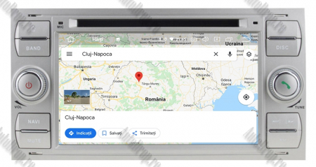 NAVIGATIE FORD FOCUS/MONDEO/S-MAX/Transit/Tourneo, ANDROID 10, Octacore|PX5| / 4GB RAM + 64GB ROM CU DVD, 7 INCH - AD-BGWFORDD7P5-S13