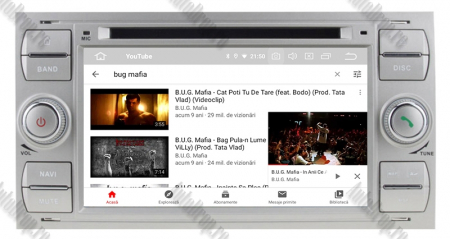 Navigatie Ford Focus/Fiesta/C-Max/S-Max/Kuga/Tranzit, Android 10, Quadcore|PX30| / 2GB RAM + 16GB ROM cu DVD, 7 Inch - AD-BGWFORDDD7P3-S10