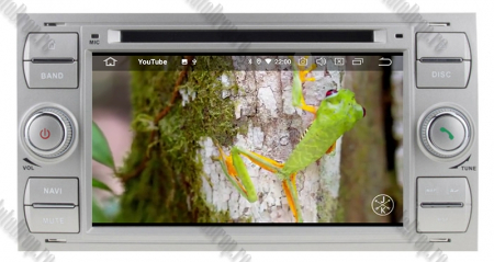 Navigatie Ford Focus/Fiesta/C-Max/S-Max/Kuga/Tranzit, Android 10, Quadcore|PX30| / 2GB RAM + 16GB ROM cu DVD, 7 Inch - AD-BGWFORDDD7P3-S14