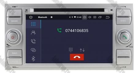 Navigatie Ford Focus/Fiesta/C-Max/S-Max/Kuga/Tranzit, Android 10, Quadcore|PX30| / 2GB RAM + 16GB ROM cu DVD, 7 Inch - AD-BGWFORDDD7P3-S5