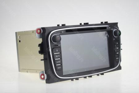 NAVIGATIE FORD FOCUS/MONDEO/S-MAX/Transit/Tourneo, ANDROID 10, Quadcore|PX30| / 2GB RAM + 16GB ROM CU DVD, 7 INCH - AD-BGWFORDO7P3-B16