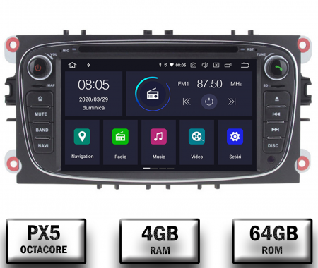 Navigatie Dedicata Ford Focus/Mondeo/S-max   AutoDrop.ro [0]