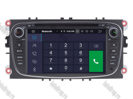 NAVIGATIE FORD FOCUS/MONDEO/S-MAX/Transit/Tourneo, ANDROID 10, Octacore|PX5| / 4GB RAM + 64GB ROM CU DVD, 7 INCH - AD-BGWFORDO7P5-B4