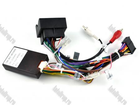 NAVIGATIE FORD FOCUS/MONDEO/S-MAX/Transit/Tourneo, ANDROID 10, Octacore|PX5| / 4GB RAM + 64GB ROM CU DVD, 7 INCH - AD-BGWFORDO7P5-S16