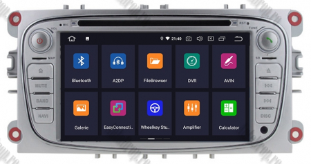NAVIGATIE FORD FOCUS/MONDEO/S-MAX/Transit/Tourneo, ANDROID 10, Octacore|PX5| / 4GB RAM + 64GB ROM CU DVD, 7 INCH - AD-BGWFORDO7P5-S2