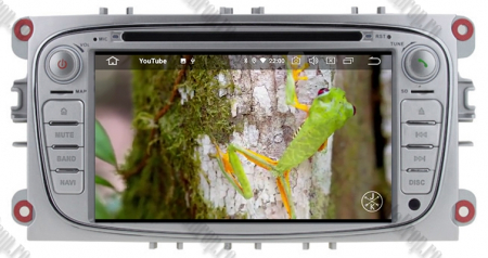 NAVIGATIE FORD FOCUS/MONDEO/S-MAX/Transit/Tourneo, ANDROID 10, Octacore|PX5| / 4GB RAM + 64GB ROM CU DVD, 7 INCH - AD-BGWFORDO7P5-S15
