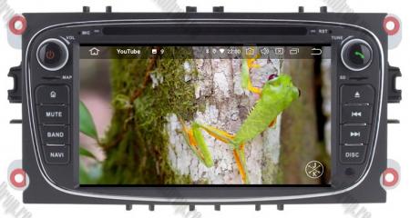 NAVIGATIE FORD FOCUS/MONDEO/S-MAX/Transit/Tourneo, ANDROID 10, Quadcore|PX30| / 2GB RAM + 16GB ROM CU DVD, 7 INCH - AD-BGWFORDO7P3-B14