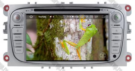 NAVIGATIE FORD FOCUS/MONDEO/S-MAX/Transit/Tourneo, ANDROID 10, Quadcore|PX30| / 2GB RAM + 16GB ROM CU DVD, 7 INCH - AD-BGWFORDO7P3-S15