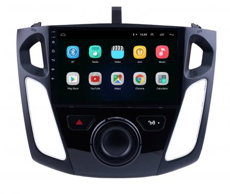 Navigatie Ford Focus 3 (2011-2019), Android 9.1, QUADCORE|MTK| / 2GB RAM + 32GB ROM, 9 Inch - AD-BGPFF3MTK2GB2