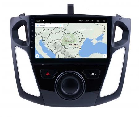 Navigatie Ford Focus 3 (2011-2019), Android 9.1, QUADCORE|MTK| / 2GB RAM + 32GB ROM, 9 Inch - AD-BGPFF3MTK2GB9