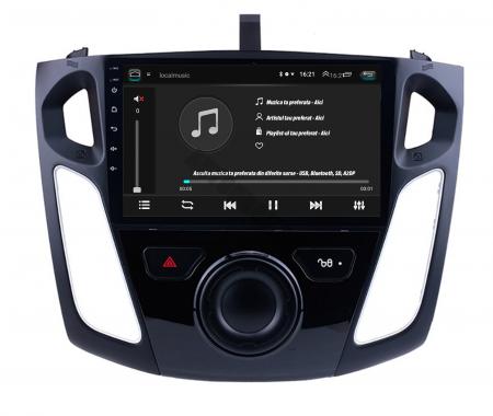 Navigatie Ford Focus 3 (2011-2019), Android 9.1, QUADCORE|MTK| / 2GB RAM + 32GB ROM, 9 Inch - AD-BGPFF3MTK2GB5