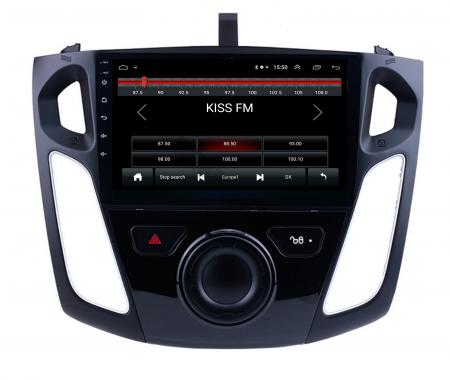 Navigatie Ford Focus 3 (2011-2019), Android 9.1, QUADCORE|MTK| / 2GB RAM + 32GB ROM, 9 Inch - AD-BGPFF3MTK2GB1