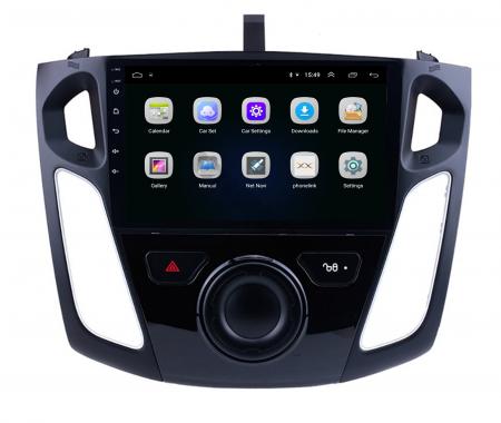 Navigatie Ford Focus 3 (2011-2019), Android 9.1, QUADCORE|MTK| / 2GB RAM + 32GB ROM, 9 Inch - AD-BGPFF3MTK2GB3