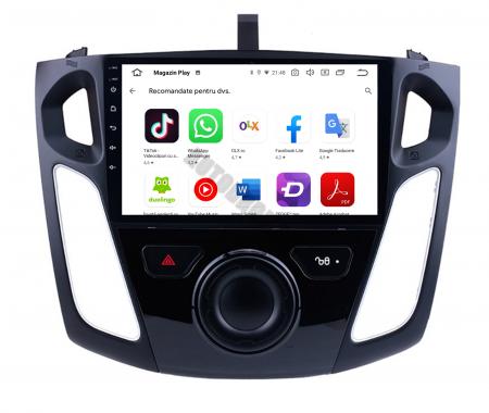 Navigatie Ford Focus 3 (2011-2019), Android 9.1, QUADCORE|MTK| / 2GB RAM + 32GB ROM, 9 Inch - AD-BGPFF3MTK2GB8