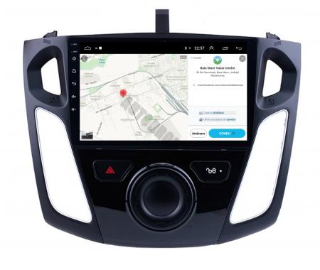Navigatie Ford Focus 3 (2011-2019), Android 9.1, QUADCORE|MTK| / 2GB RAM + 32GB ROM, 9 Inch - AD-BGPFF3MTK2GB10