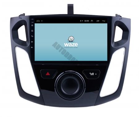 Navigatie Ford Focus 3 (2011-2019), Android 9.1, QUADCORE|MTK| / 2GB RAM + 32GB ROM, 9 Inch - AD-BGPFF3MTK2GB12