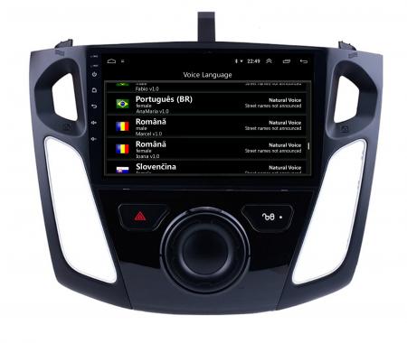 Navigatie Ford Focus 3 (2011-2019), Android 9.1, QUADCORE|MTK| / 2GB RAM + 32GB ROM, 9 Inch - AD-BGPFF3MTK2GB6