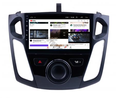 Navigatie Ford Focus 3 (2011-2019), Android 9.1, QUADCORE|MTK| / 2GB RAM + 32GB ROM, 9 Inch - AD-BGPFF3MTK2GB13