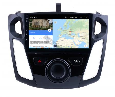Navigatie Ford Focus 3 (2011-2019), Android 9.1, QUADCORE|MTK| / 2GB RAM + 32GB ROM, 9 Inch - AD-BGPFF3MTK2GB11