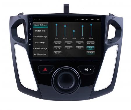 Navigatie Ford Focus 3 (2011-2019), Android 9.1, QUADCORE|MTK| / 2GB RAM + 32GB ROM, 9 Inch - AD-BGPFF3MTK2GB7